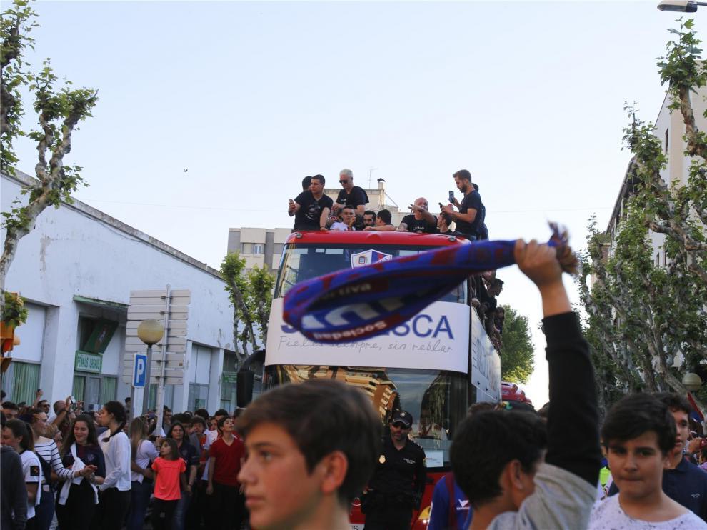El Huesca se suma al llamamiento de CSD, RFEF y LaLiga para evitar celebraciones que pongan en riesgo la salud