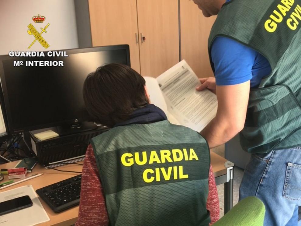 La Guardia Civil detecta un ciber-ataque a través del correo electrónico a varias empresas de Huesca