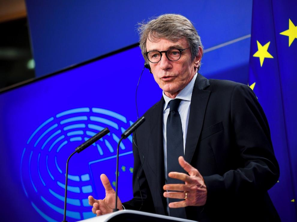 """David Sassoli: """"La ayuda europea debe ir a economía verde, agenda digital y empleo juvenil"""""""