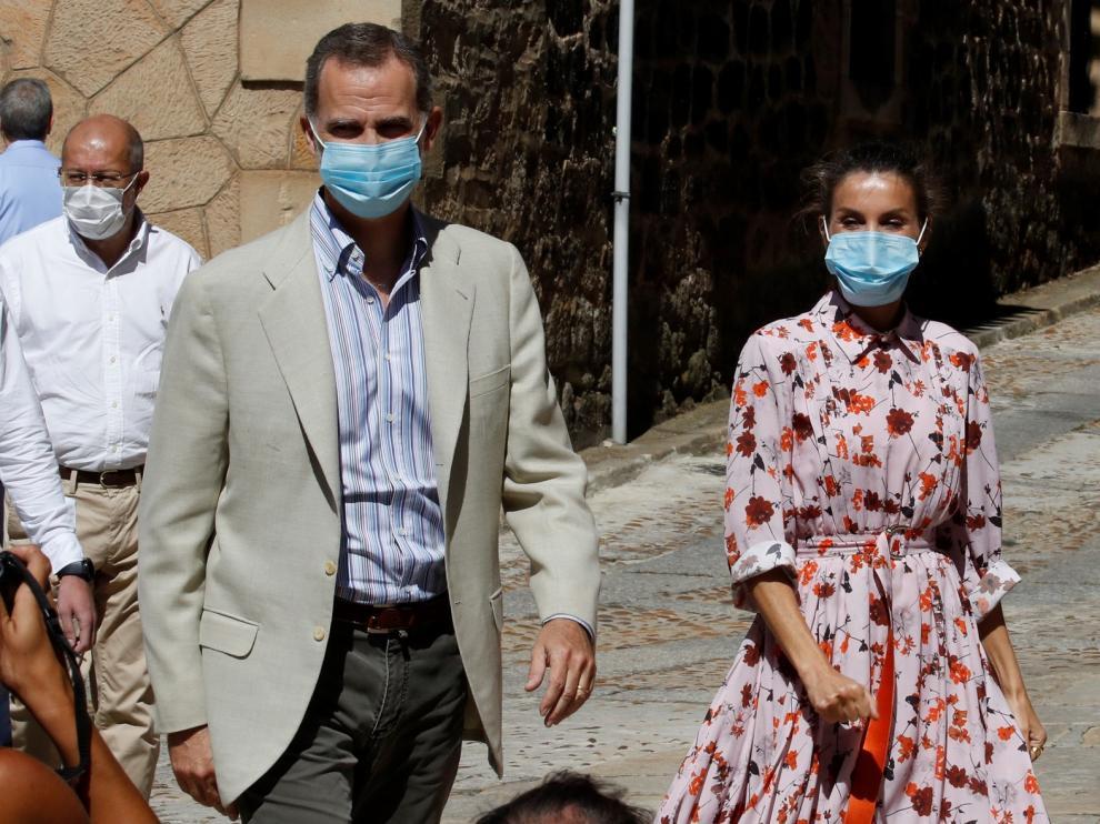 Los Reyes se preocupan por los mayores y la despoblación en su visita a Soria