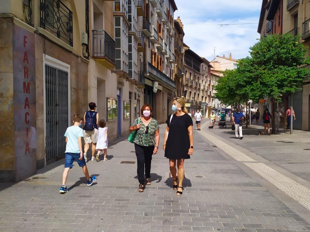 El Ayuntamiento de Huesca y la Asociación de Comerciantes apuestan por la digitalización