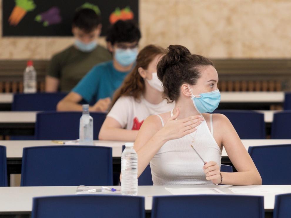 El 93,70 % de los alumnos de Bachillerato supera con éxito la Evau