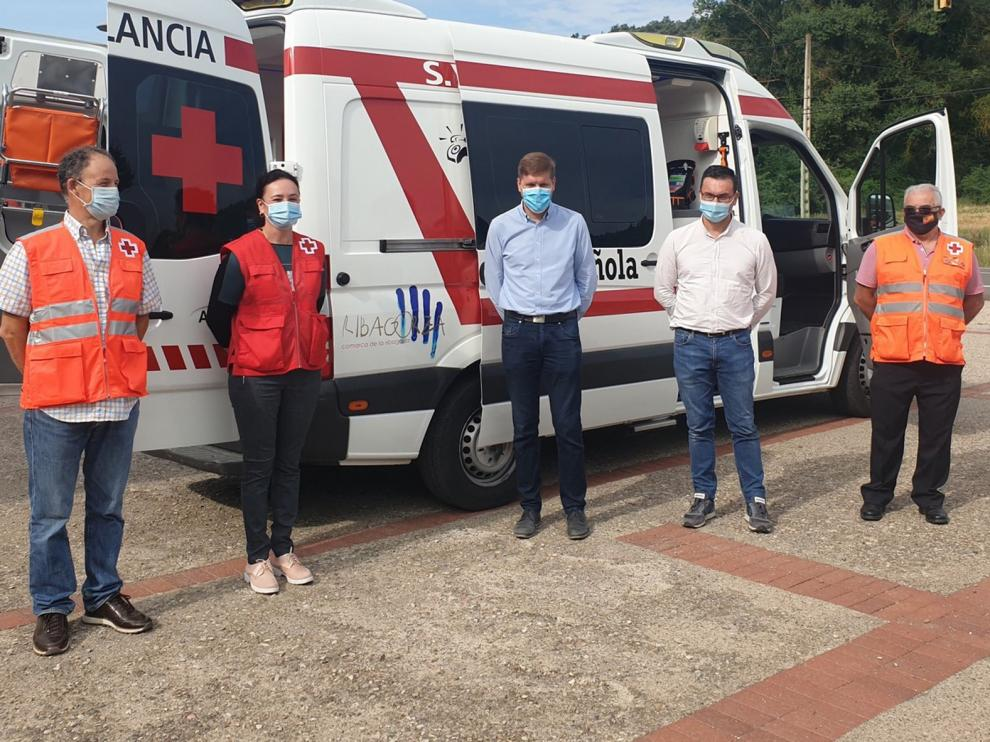 Cruz Roja de Graus renueva su ambulancia con el apoyo de la Comarca de la Ribagorza