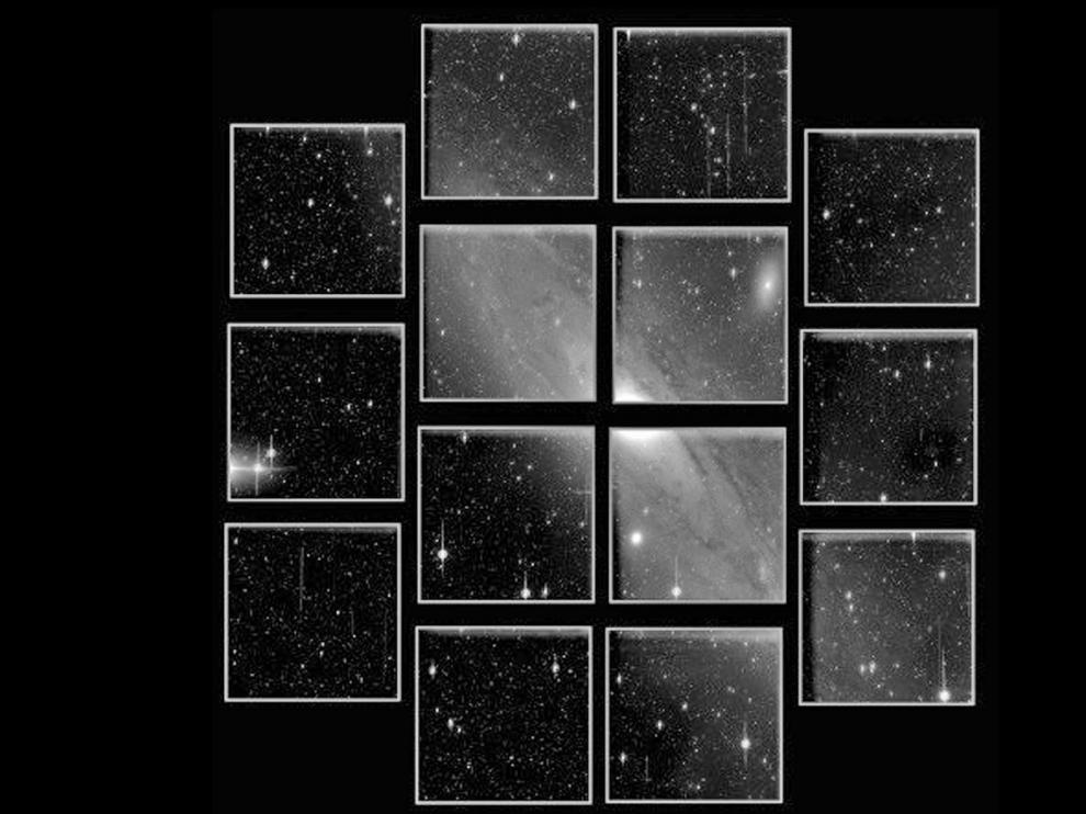 La cámara astronómica de Javalambre obtiene sus primeras imágenes