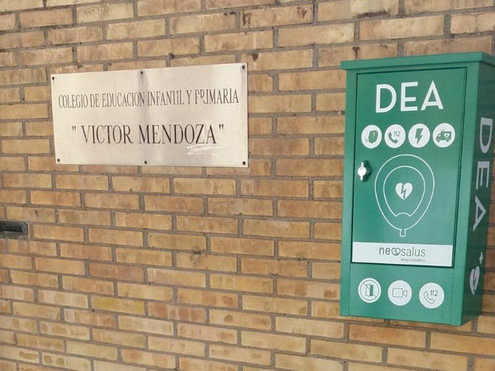 El Ayuntamiento de Binéfar completa con cuatro nuevos desfibriladores la red cardioprotectora local