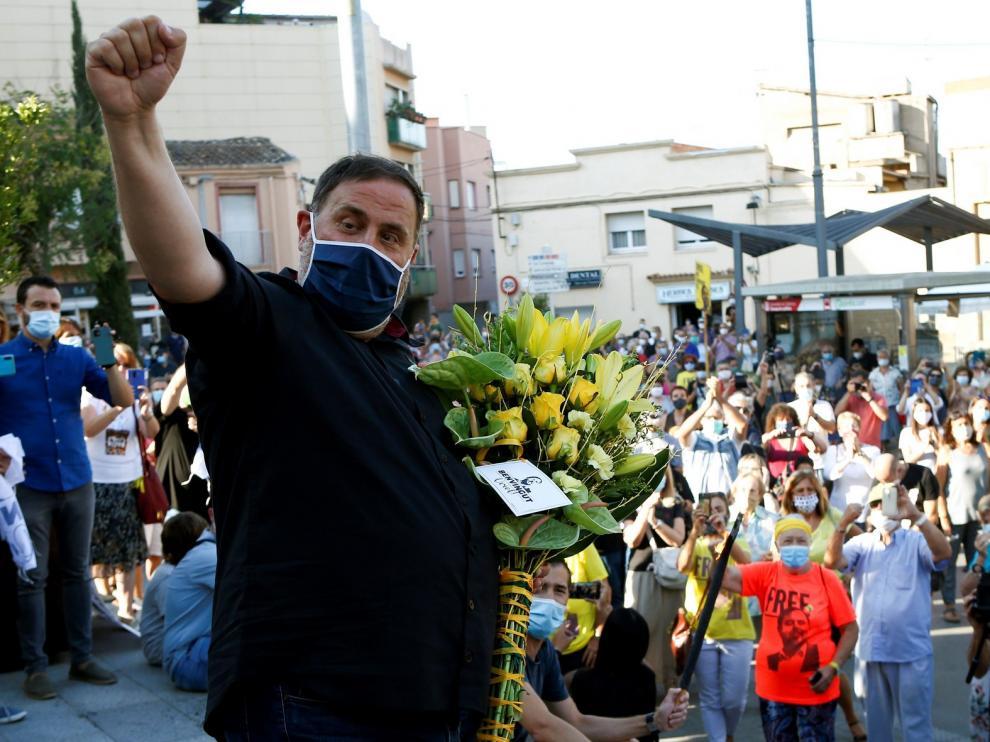 Junqueras y Aragonés se reúnen tras la salida de prisión del dirigente de ERC