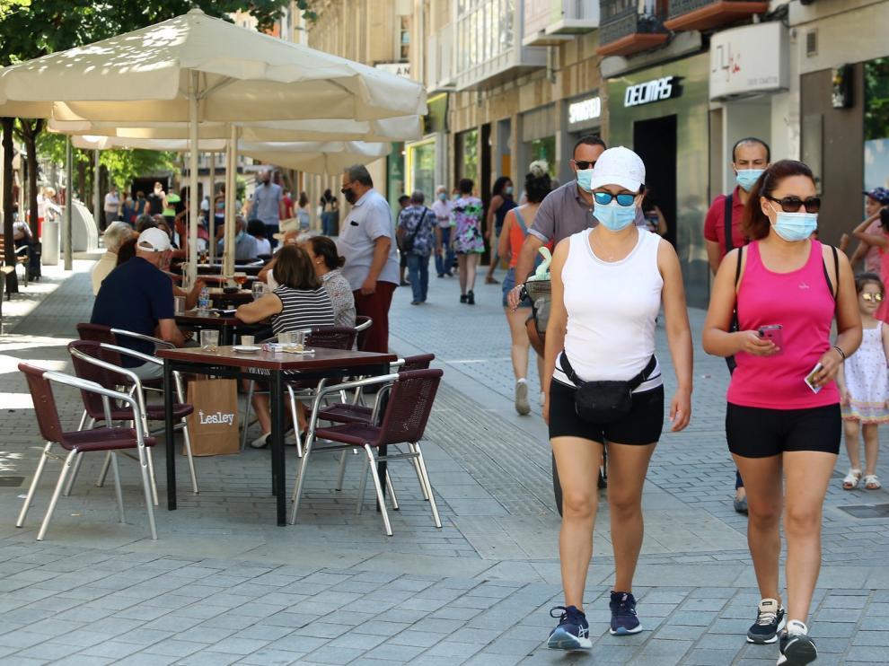 La incidencia del coronavirus en Aragón casi cuadruplica la media nacional