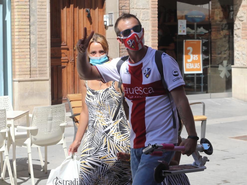 El ascenso del Huesca a Primera, un revulsivo para salir adelante