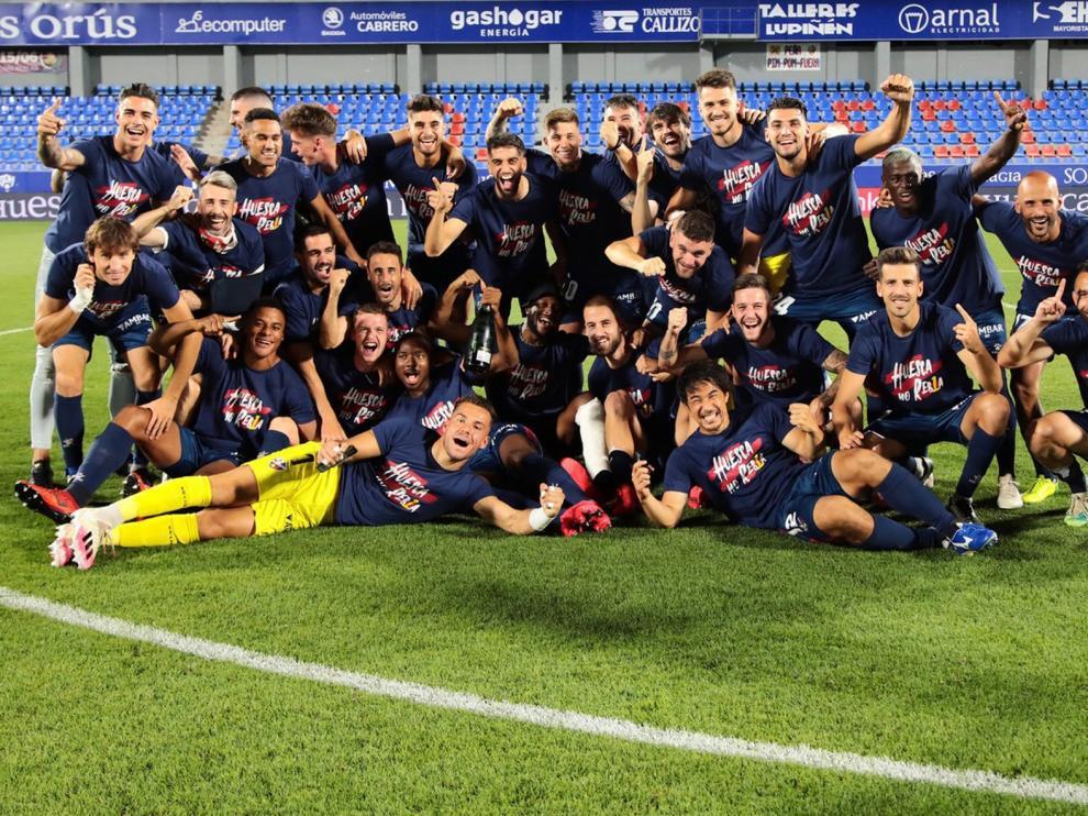 El Huesca, con opciones de acabar como campeón de Segunda