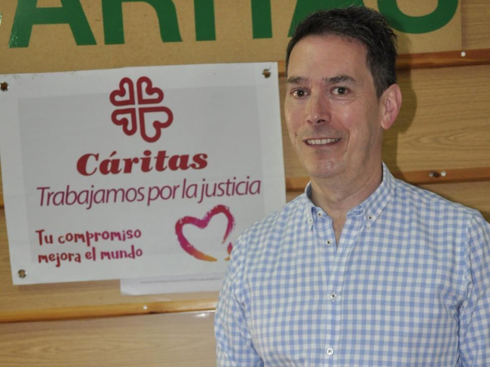 """Marcos Lera: """"Me siento comprometido con Jaca, con la Iglesia y con mi comunidad"""""""