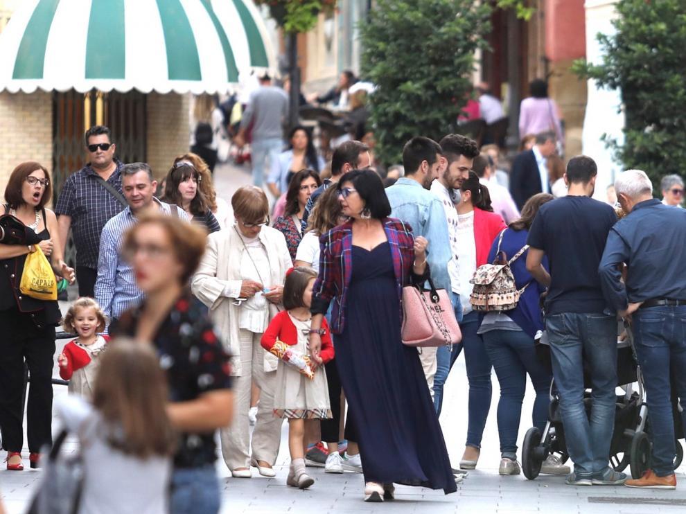 La provincia de Huesca gana casi 2.600 habitantes por la migración
