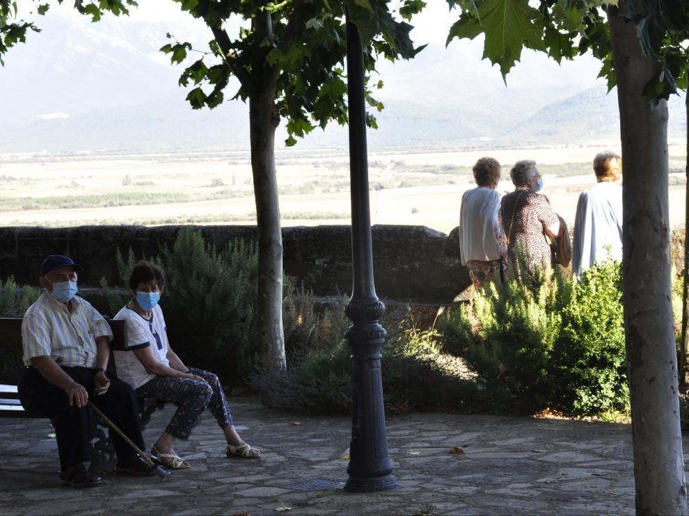 Berdún reúne todos los servicios para vivir cómodamente al pie de los Pirineos