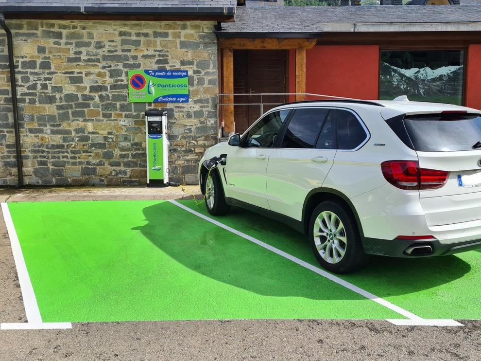Puntos de recarga de vehículos eléctricos