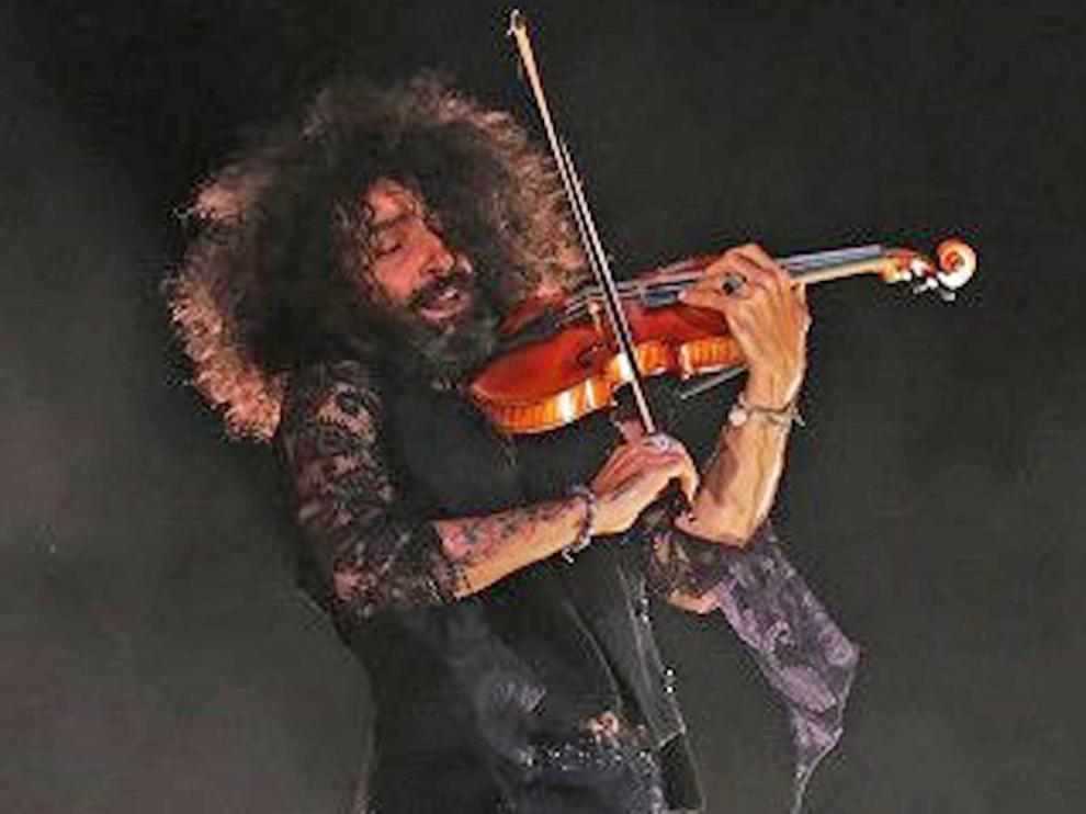 El músico Ara Malikian abre la temporada del Auditorio de Zaragoza