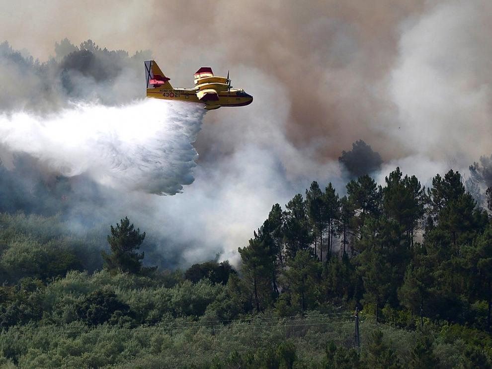 España, punta de lanza en el combate de los incendios