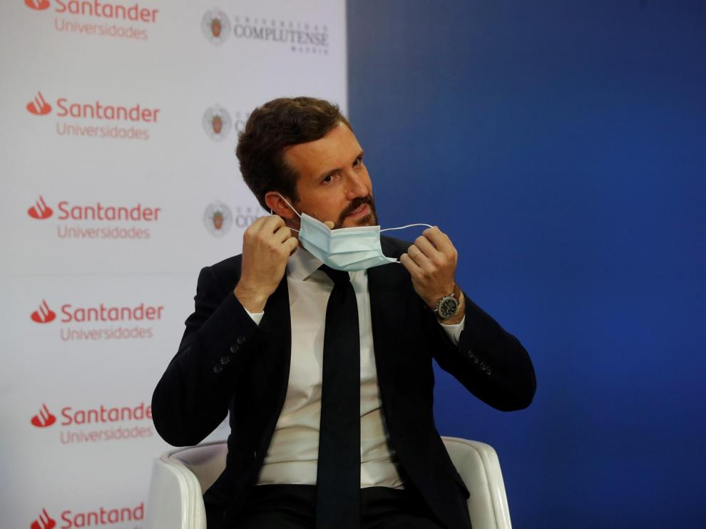 """Casado afea a Sánchez llegar """"sin los deberes hechos"""" a Europa y exige reformas ante la """"grave recesión"""""""
