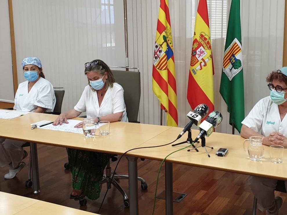 El Centro de Salud de Fraga alerta del aumento de casos positivos de covid en la ciudad