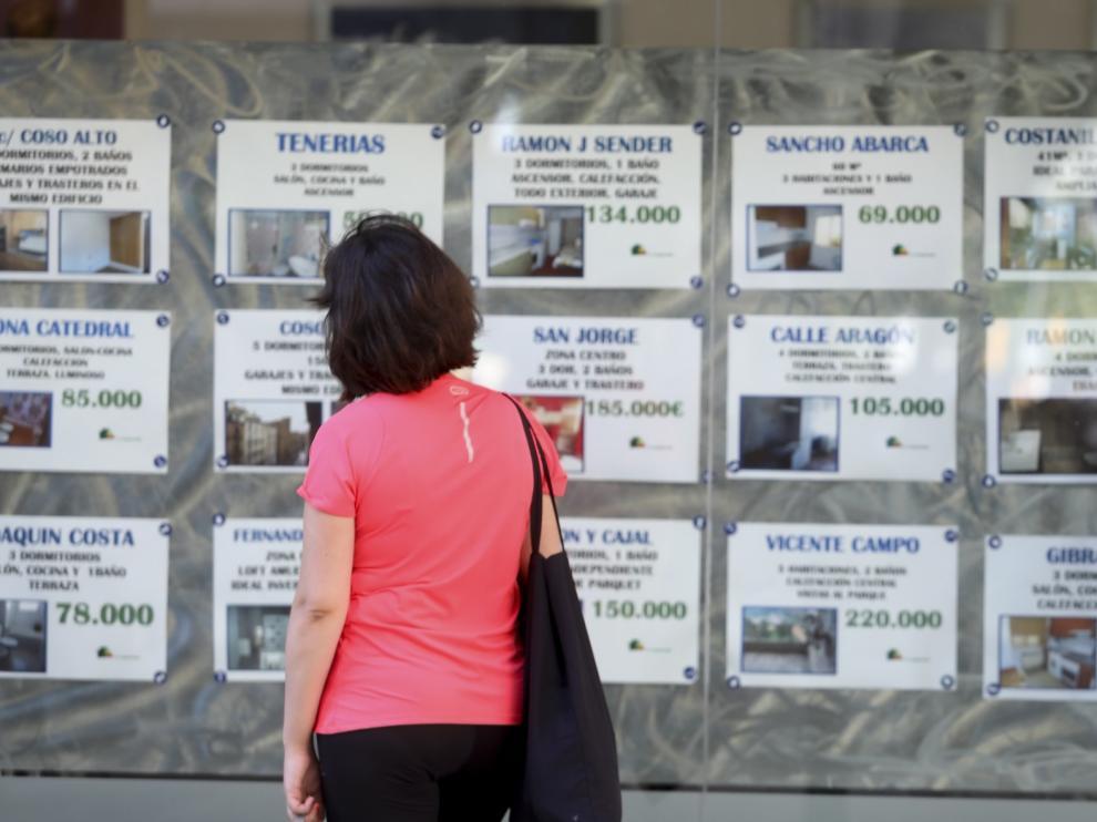 La falta de pisos en Huesca eleva el coste medio del alquiler