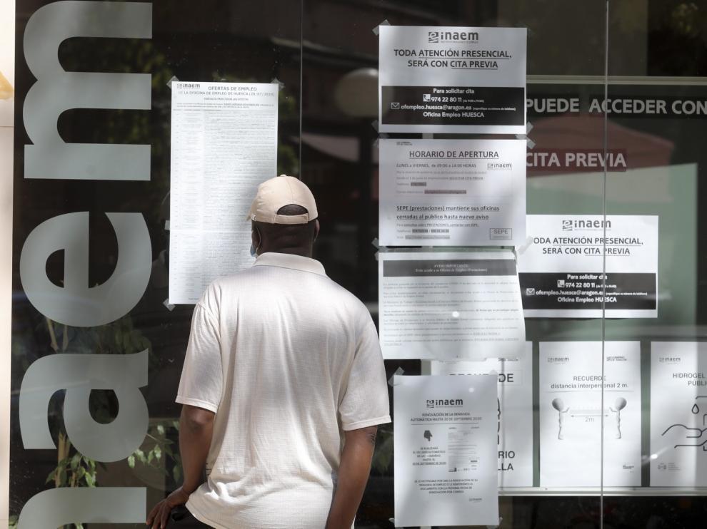 La contratación laboral se recortó a la mitad en el estado de alarma