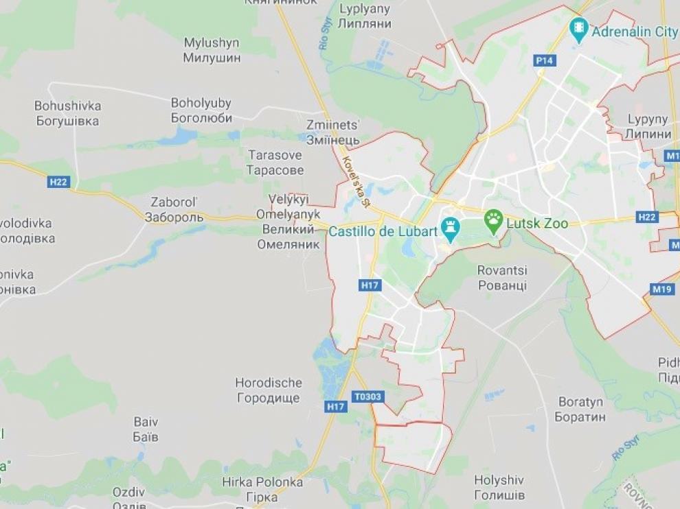 Un hombre armado secuestra un autobús con 20 personas en el oeste de Ucrania