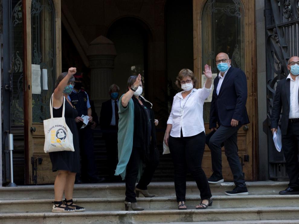 """Los exdiputados catalanes invocan en el juicio ante el TSJC su """"inviolabilidad parlamentaria"""""""