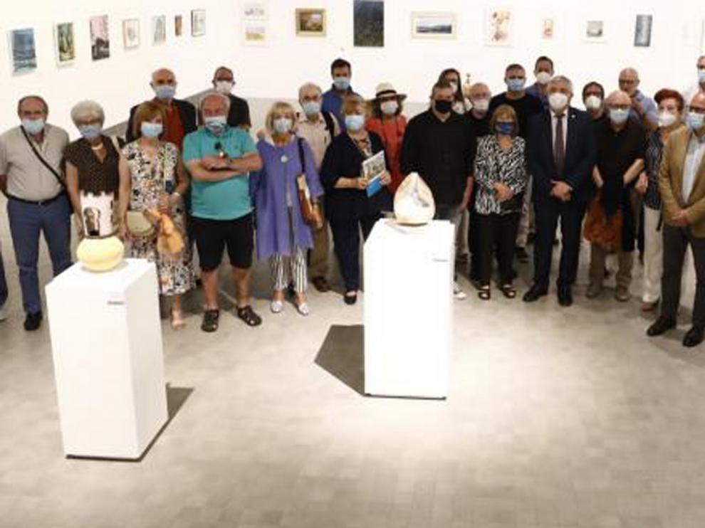 Aspanoa recauda 23.500 euros con la exposición de arte contemporáneo