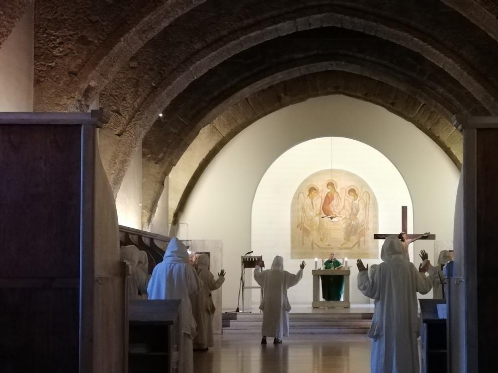 Sijena cierra una etapa de vida monástica en espera de nuevas religiosas