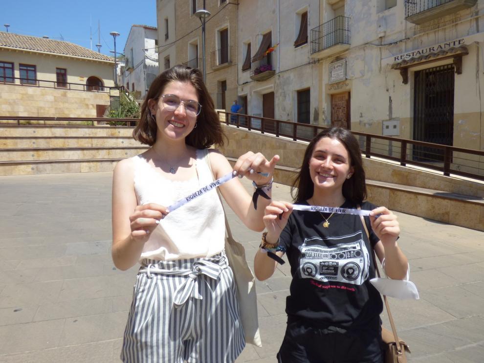 Pulseras en apoyo a la Asociación de Padres de Niños con Cáncer de Aragón