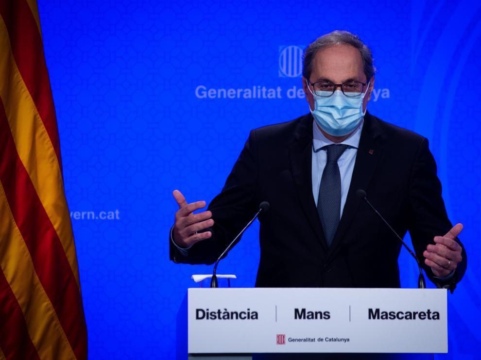 Torra propone un nuevo referéndum y ERC le pide consensuar una estrategia