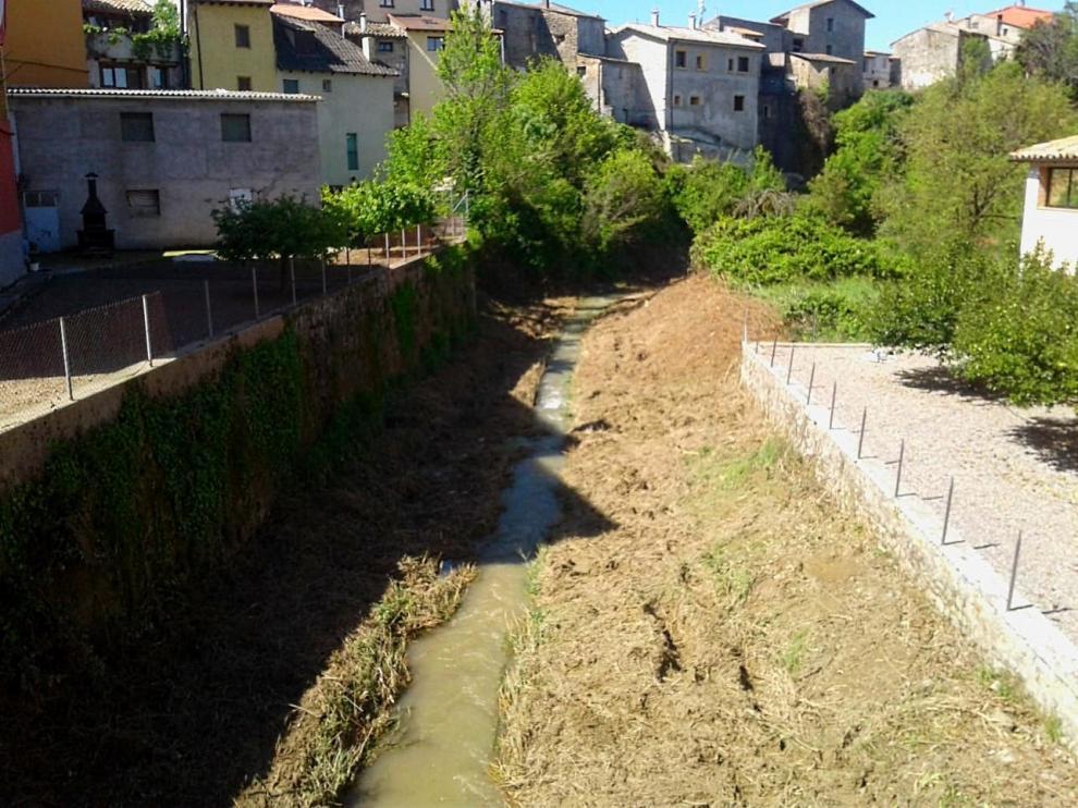 La CHE finaliza 8 intervenciones de mejora de la capacidad de desagüe en la provincia de Huesca