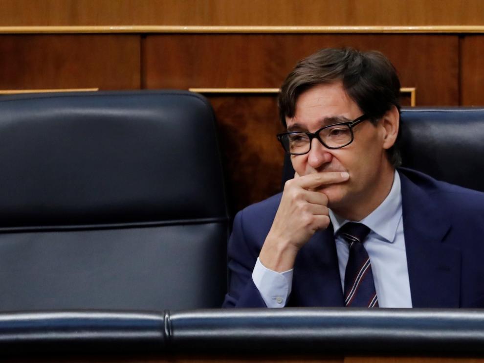 """Illa afirma que la situación que """"más le preocupa"""" es la de Aragón y Cataluña"""