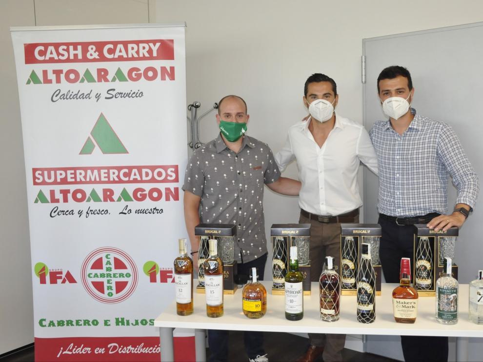 Maxxium presenta sus licores en el Cash Altoaragón de Jaca