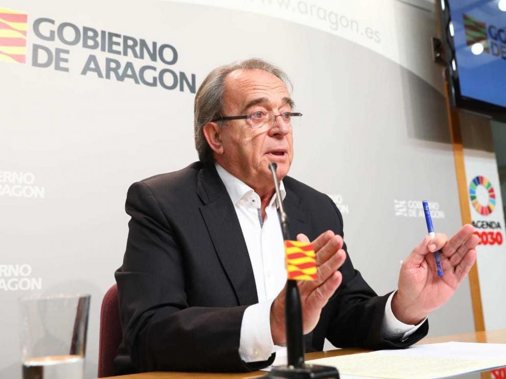 Anadón afirma que el Fondo Covid-19 no es suficiente y ya está gastado