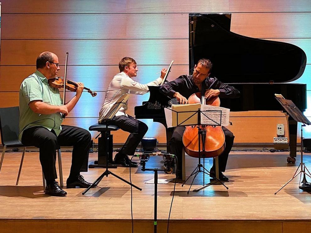 El Ensemble Tocando el cielo, un clásico del festival que regresó a Panticosa
