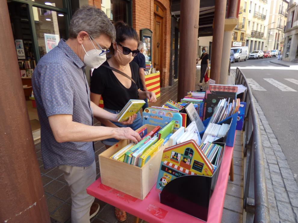 Barbastro celebra el Día del Libro más atípico