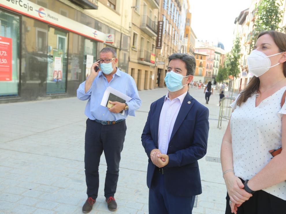 La Policía interpone más de 30 denuncias en la ciudad de Huesca por no llevar la mascarilla