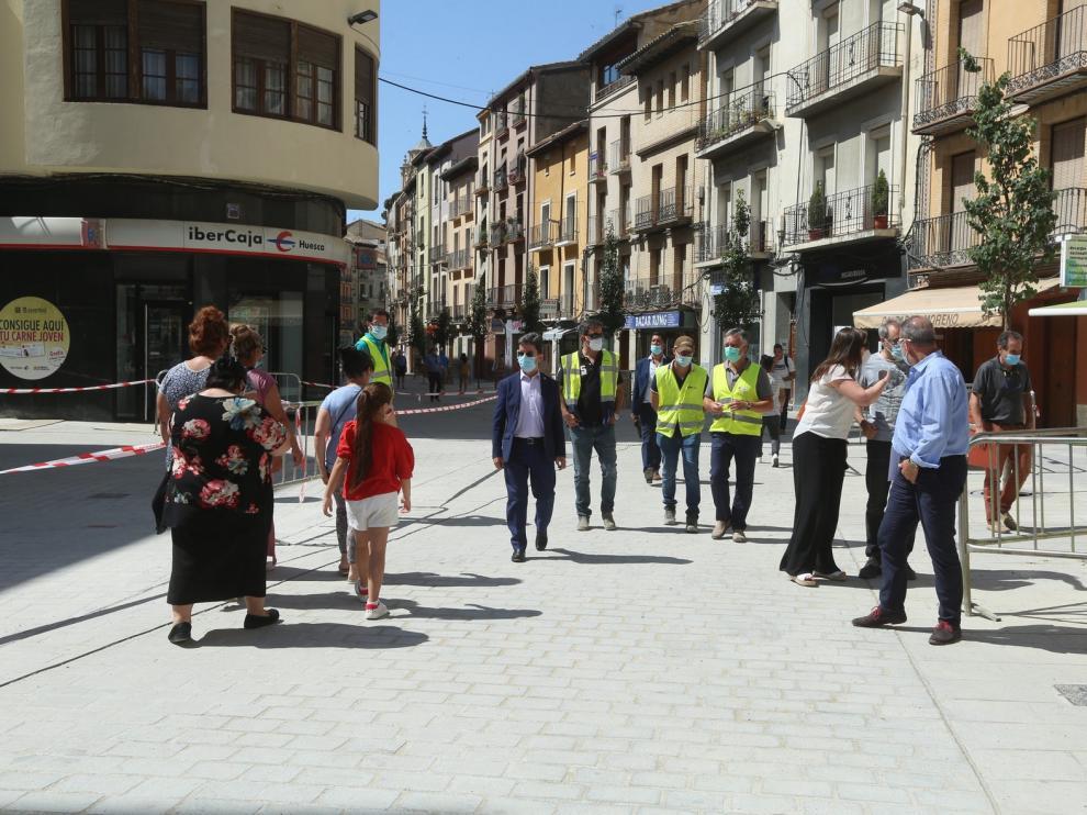 La tercera fase de la avenida Ramón y Cajal de Huesca, prevista para 2021