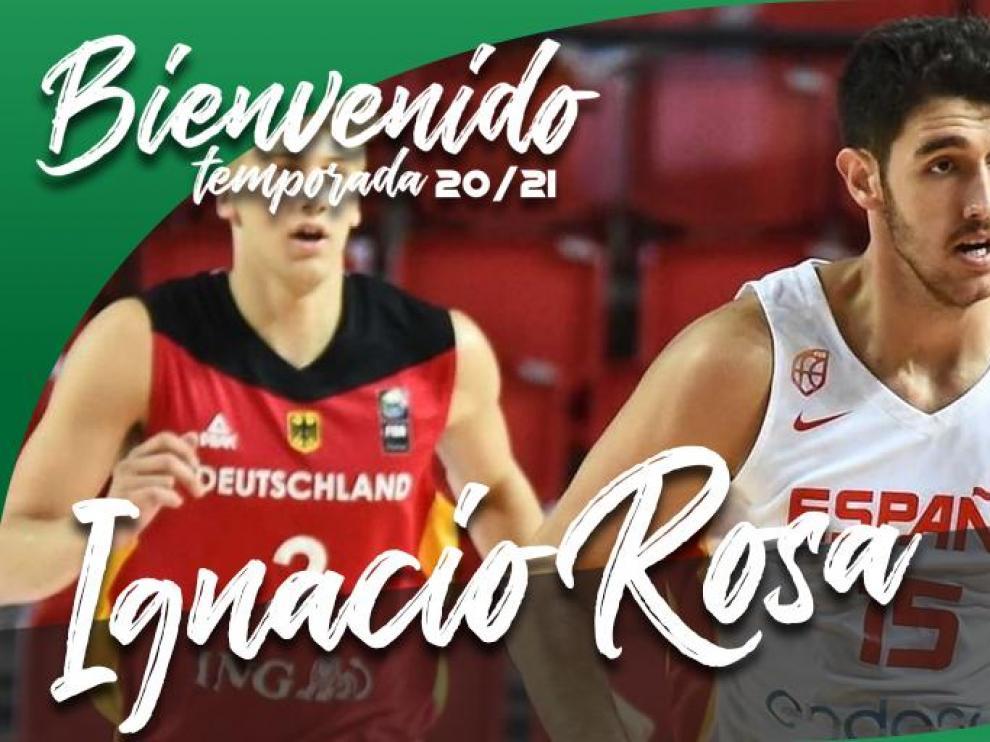 Ignacio Rosa, un 4 de talento y juventud para el Peñas