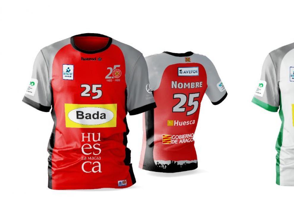 Bada Huesca ya tiene nuevas camisetas