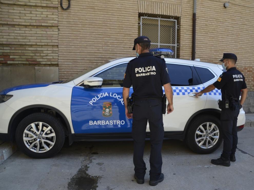 La policía local de Barbastro interpone más de 50 denuncias por no llevar mascarilla
