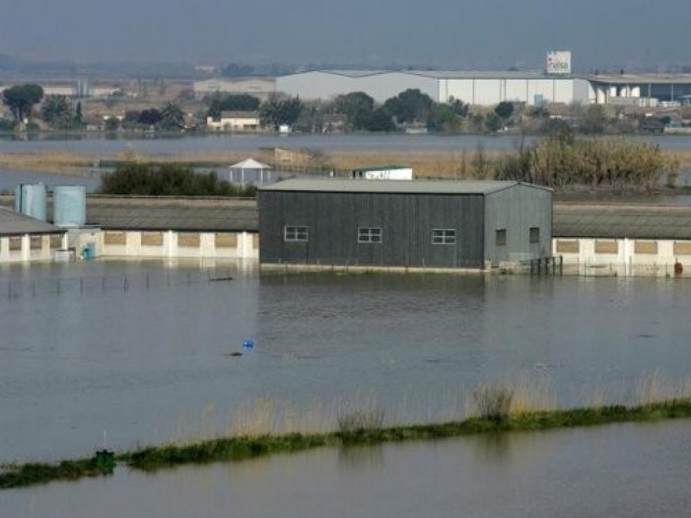 La CHE saca a consulta mapas de peligrosidad y riesgo de inundación