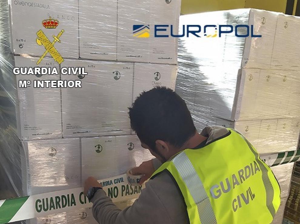Detenidas e investigadas 59 personas por fraude alimentario, una de ellas en Huesca