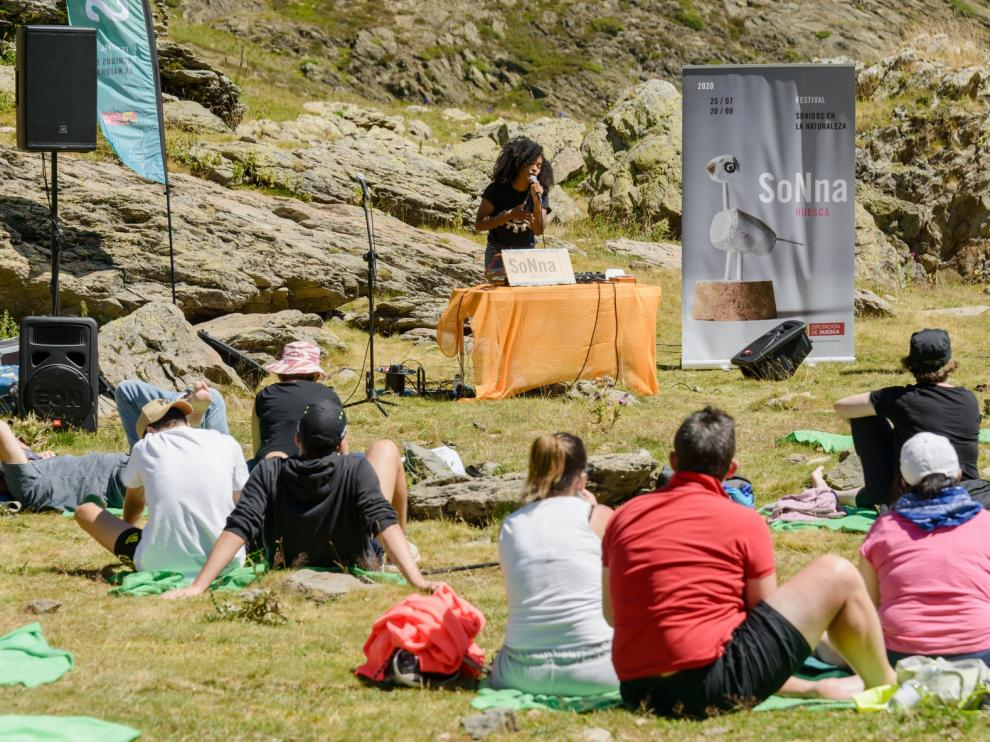 Mounqup inaugura el Festival SoNna Huesca en el corazón del valle de Tena