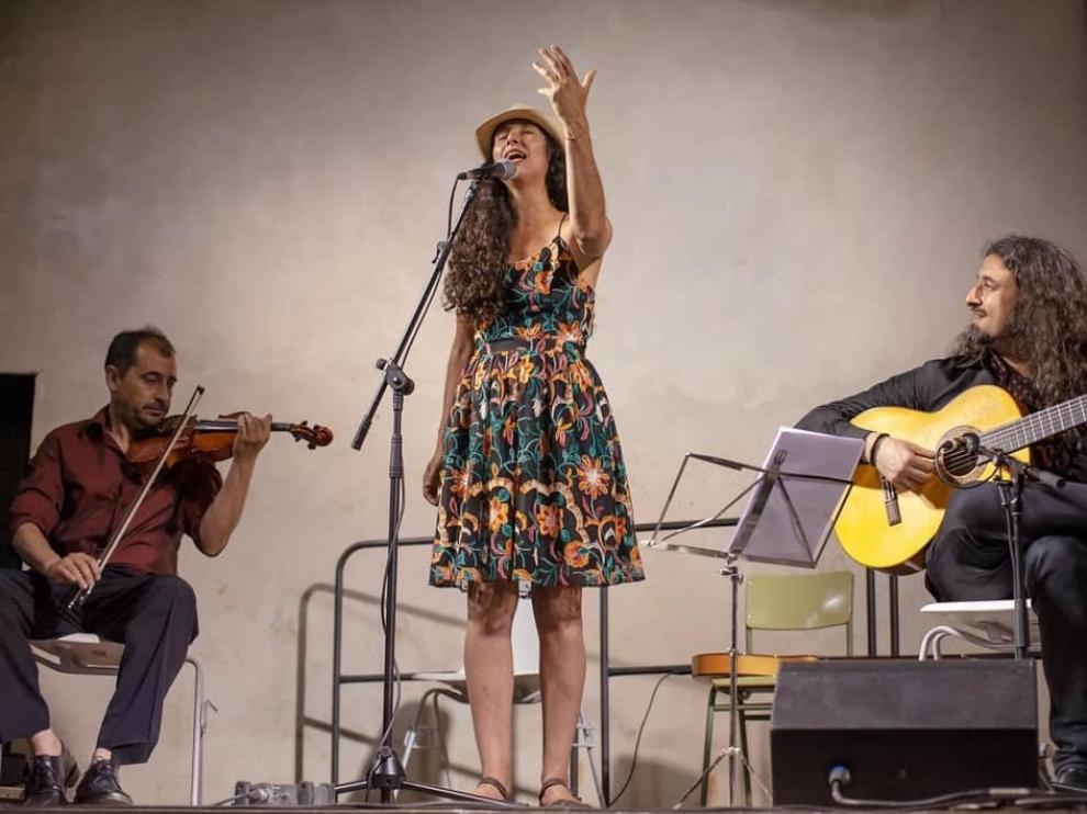 """Arancha Peralta """"Acitunita"""": """"Se podría llamar flamenco fusión pero claro, yo no hago flamenco"""""""