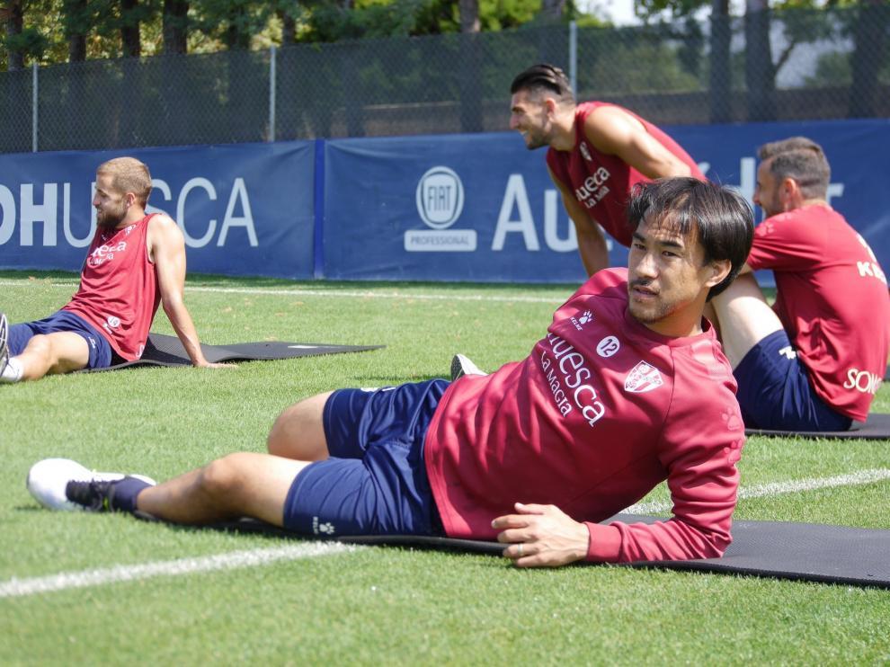 """Petón sobre Okazaki: """"¡Qué ejemplo ha dado, qué pedazo de delantero!"""""""
