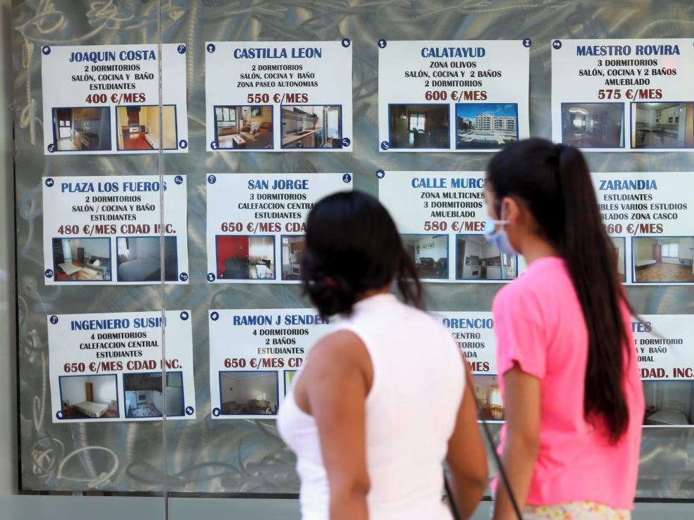 El mercado inmobiliario mantiene en Huesca los precios y la demanda pese al coronavirus