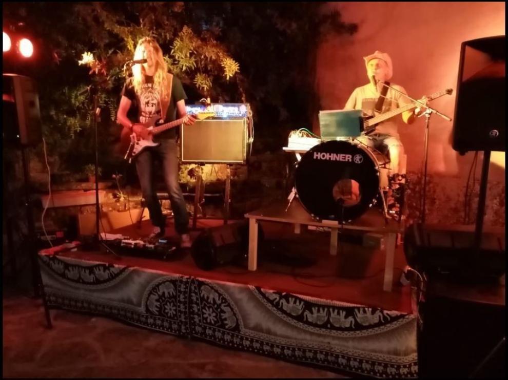 El Grupo de Rock más Pequeño del Mundo actuó en Guaso