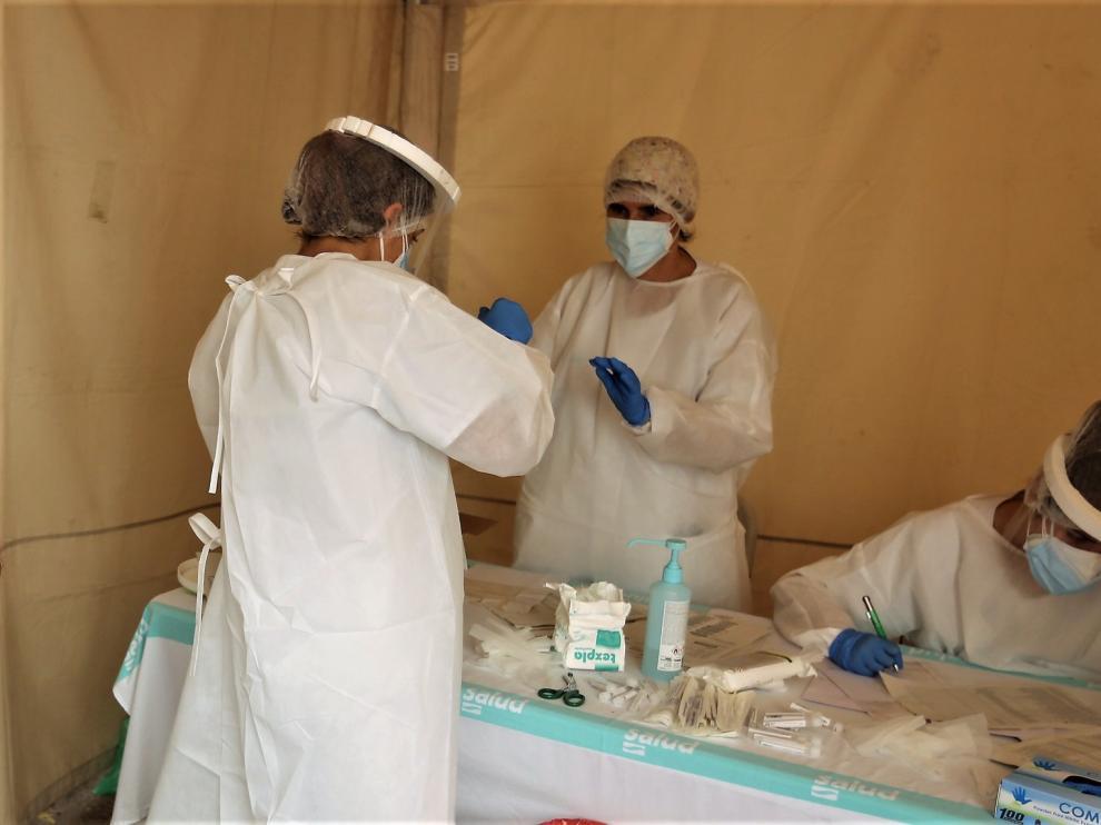 La provincia de Huesca supera ya los 2.000 contagios de coronavirus