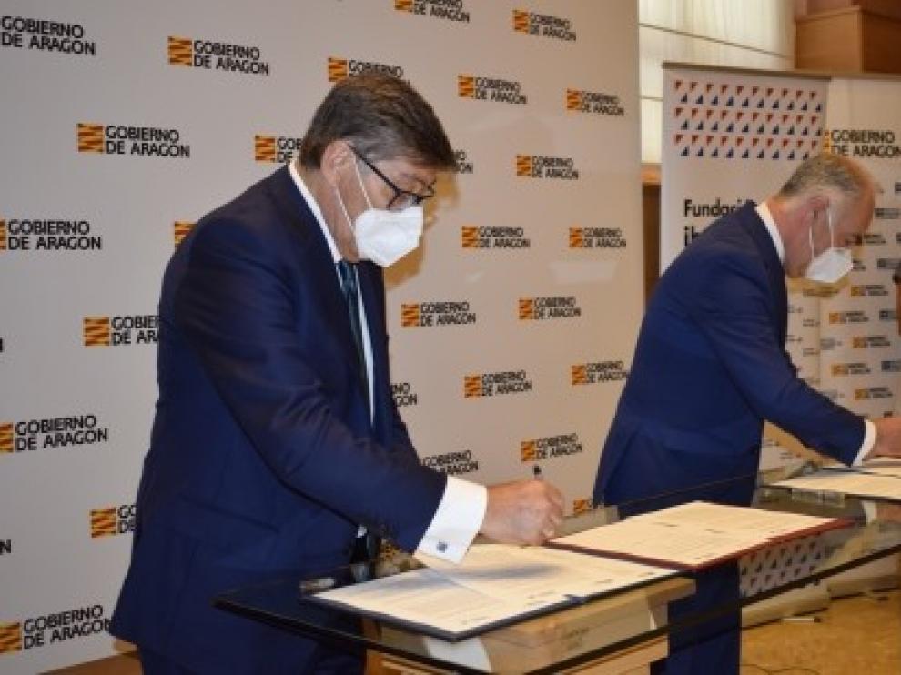 El Gobierno de Aragón impulsa el emprendimiento a través de dos convenios con la Fundación Ibercaja