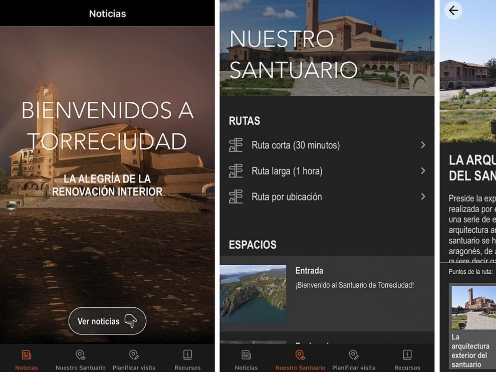 Nueva aplicación de Torreciudad para teléfonos móviles
